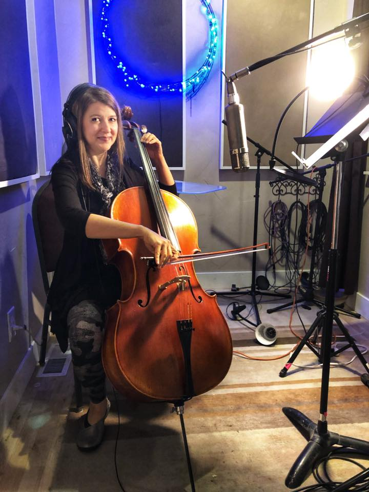 Jackie on Cello